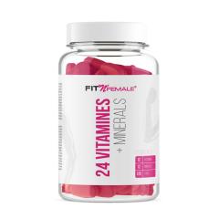 24 Vitamines + Minerals von FitnFemale. Jetzt bestellen!