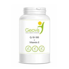Geovis Q-10-100 + Vitamin E. Jetzt bestellen!