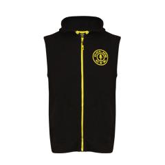 Gold's Gym Sleeveless Hoodie (Black). Jetzt bestellen!